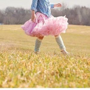 Pink Pettiskirt Girls Size 4-8 NWOT